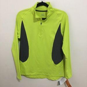 CHAMPION pullover quarter zip running top K8